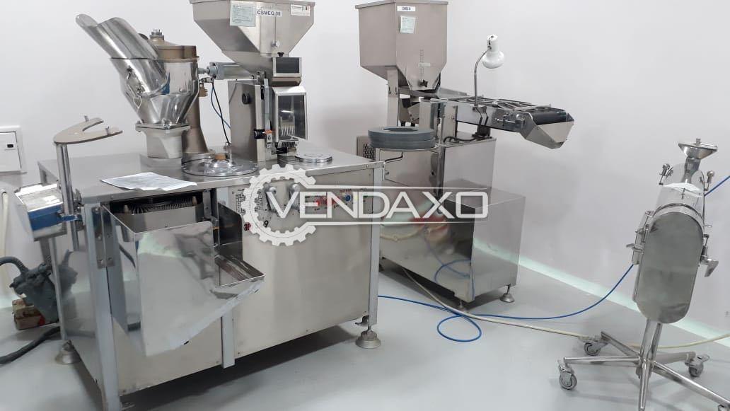 PAM SA-9 Capsule Filling Machine - 28000 Capsule Per Hour
