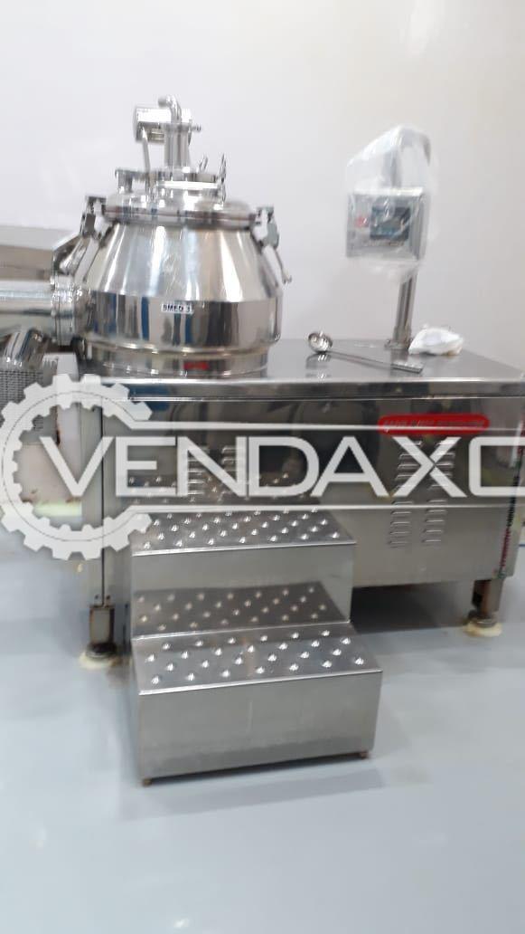 Rapid Mixer Granulation (RMG) - 120 Liter