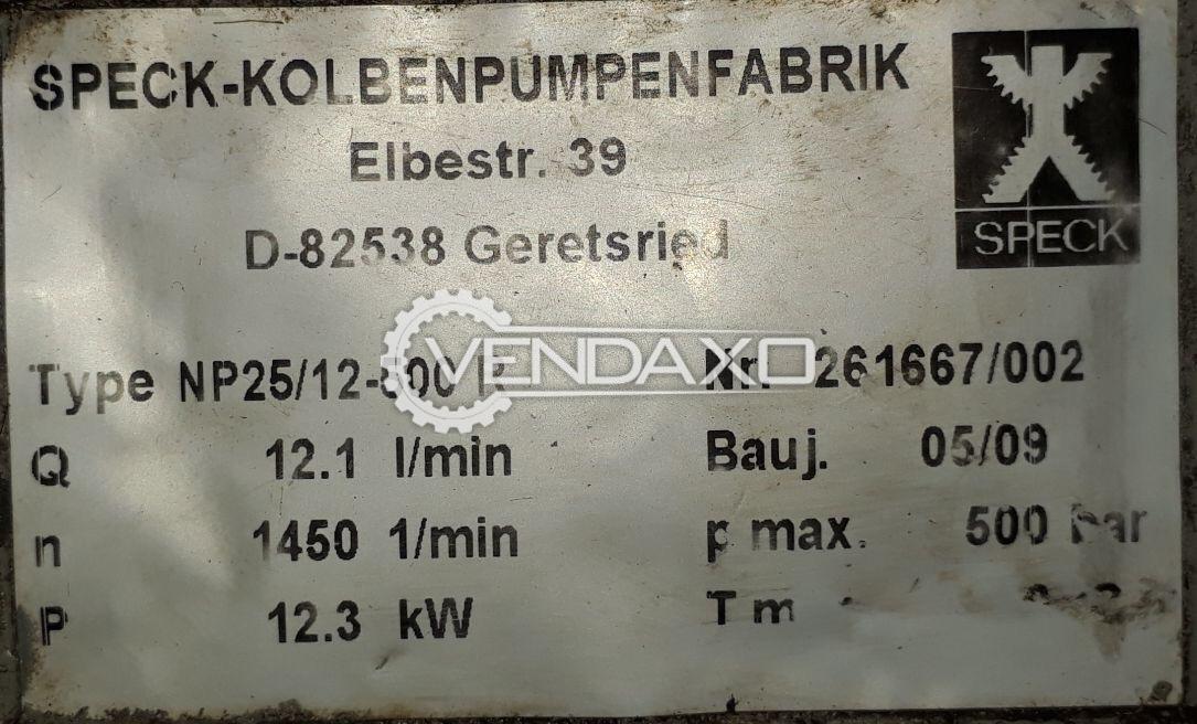 EUROCLEAN NP25/12/500 High Pressure Water Blaster