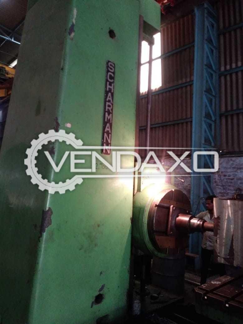 SCHIESS Horizontal Boring Machine - 2000 X 3500 mm