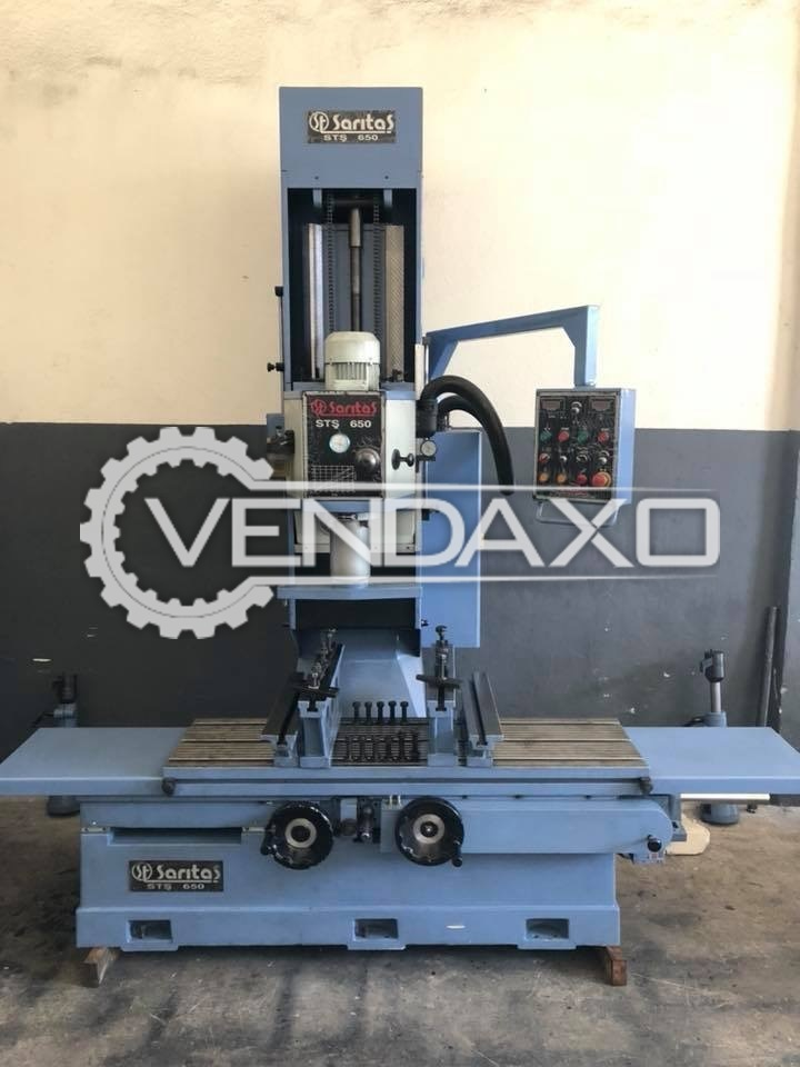 Used SARITAS ST-650 Cylinder Boring And Surface Milling