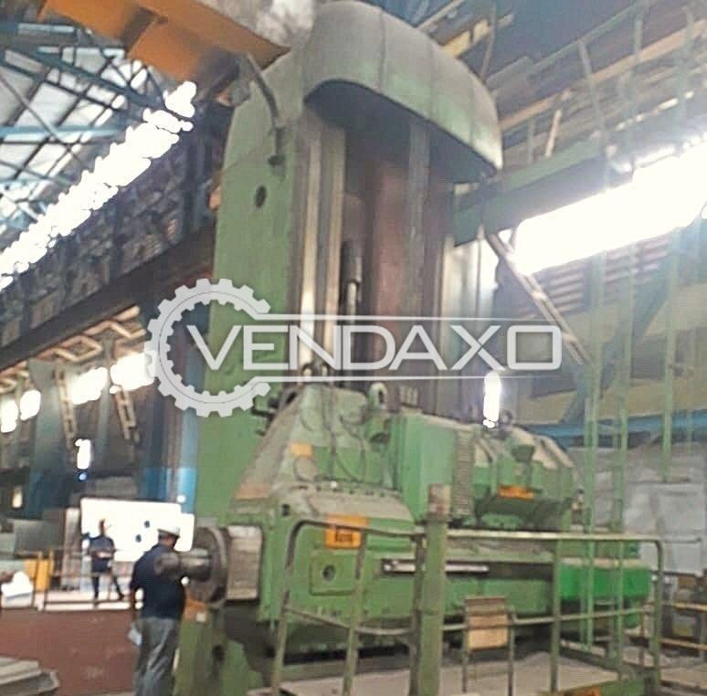 Skoda W200 Floor Boring Machine