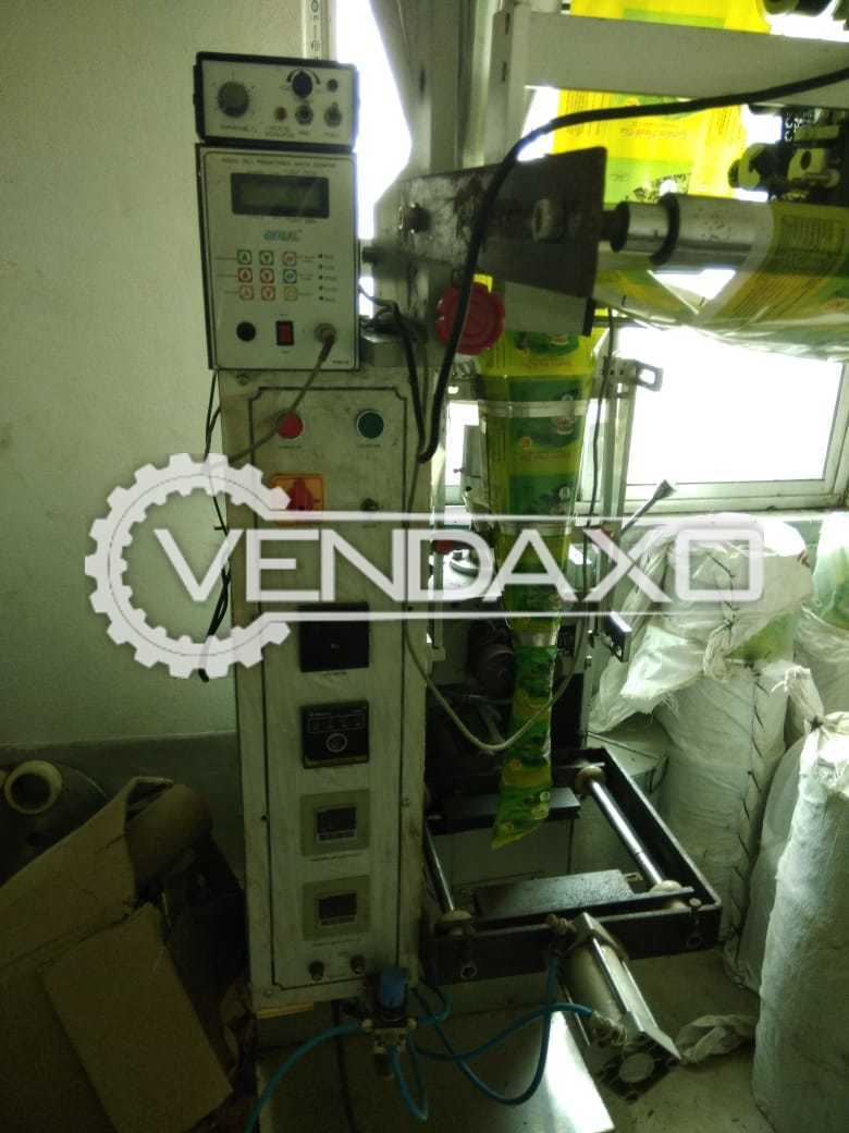 Available For Sale Tea & Spices Pouch Packing Machine - Capacity - 30 Pouch Per Min