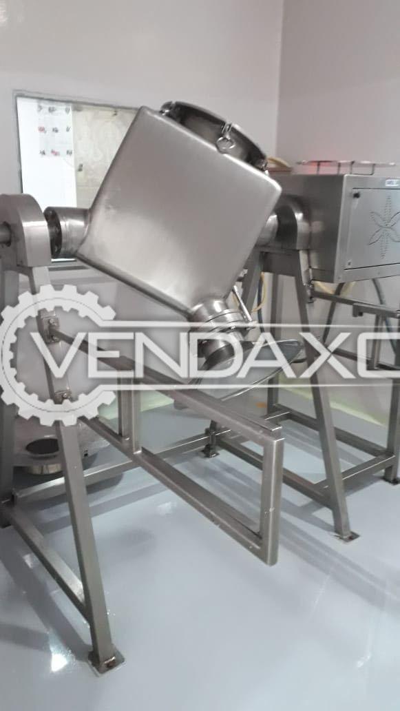 Elicon Pharma Qubic Blender Machine - 200 KG