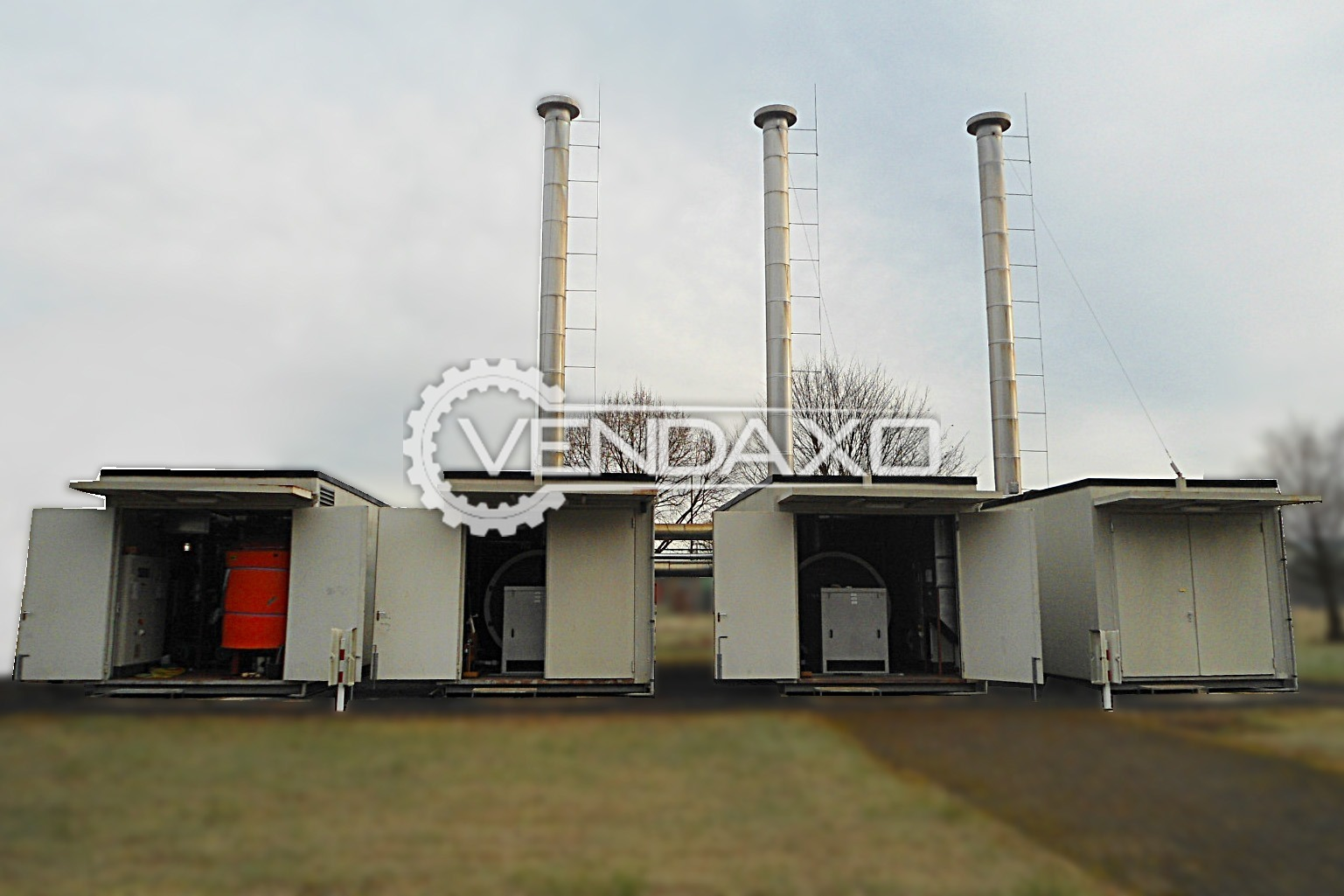 VIESSMANN Vitomax 200 Modular, Mobile Heat Generation