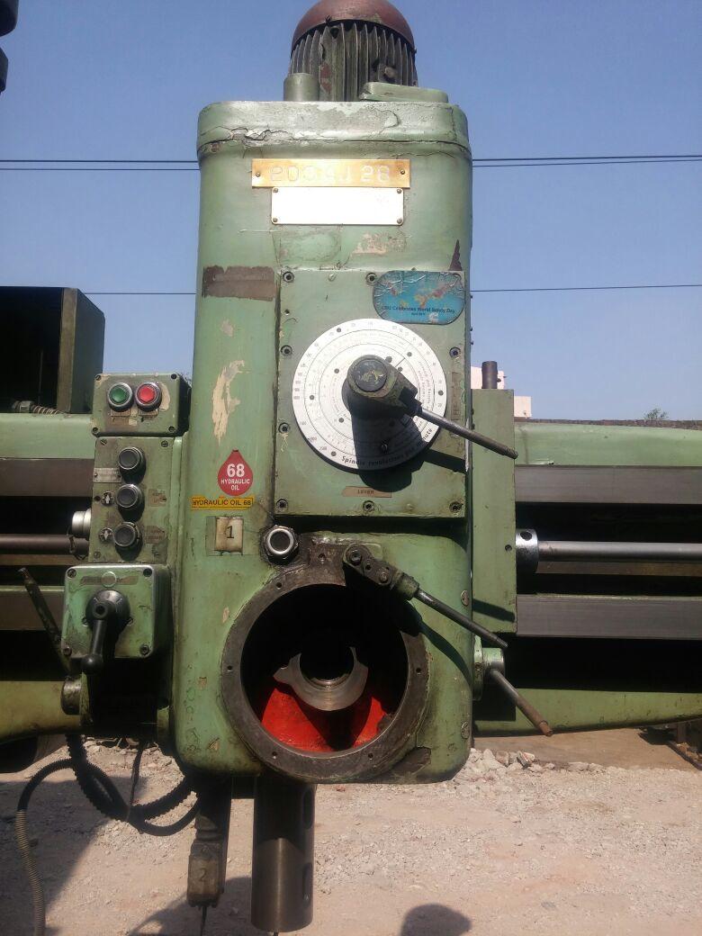 Radial drill 4