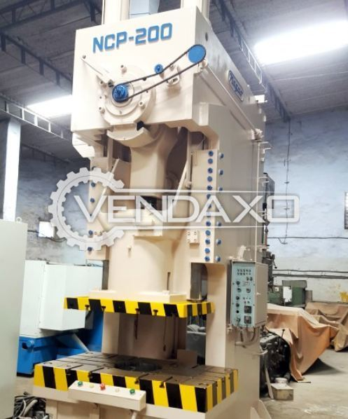 NAGAO NCP-200C 'C' Frame Press - 200 Ton