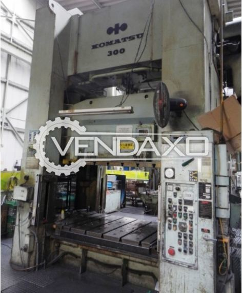 KOMATSU Mechanical Press - 300 Ton