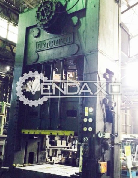 OKAMOTO DCL-300 Mechanical Press - 300 Ton