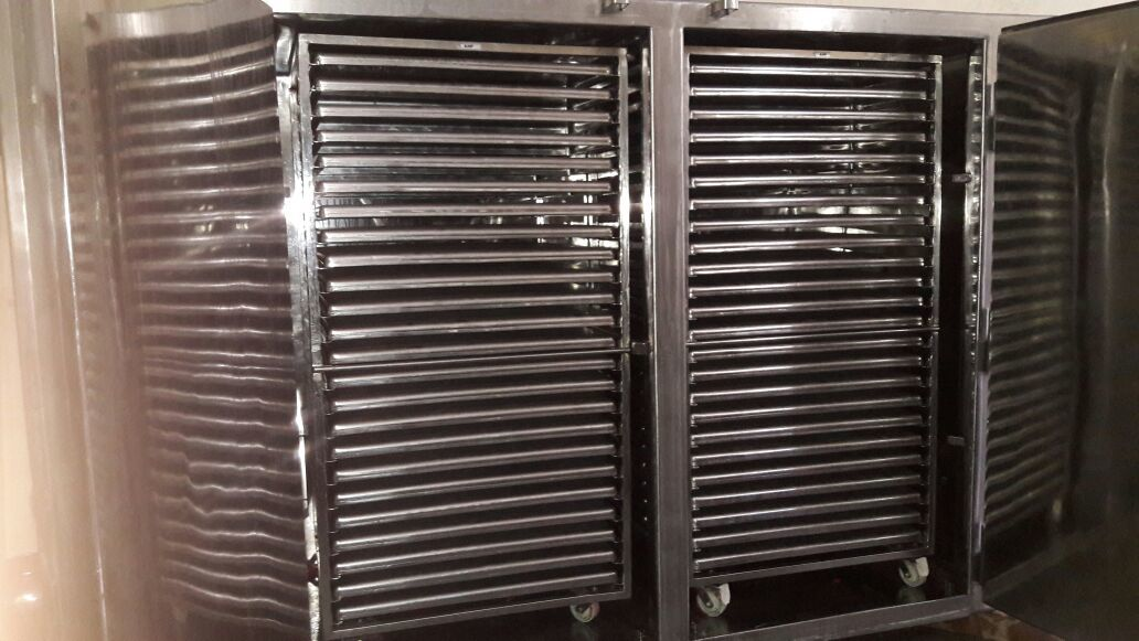 Anchor mark Tray Dryer with 96 Trays - MoC SS 316