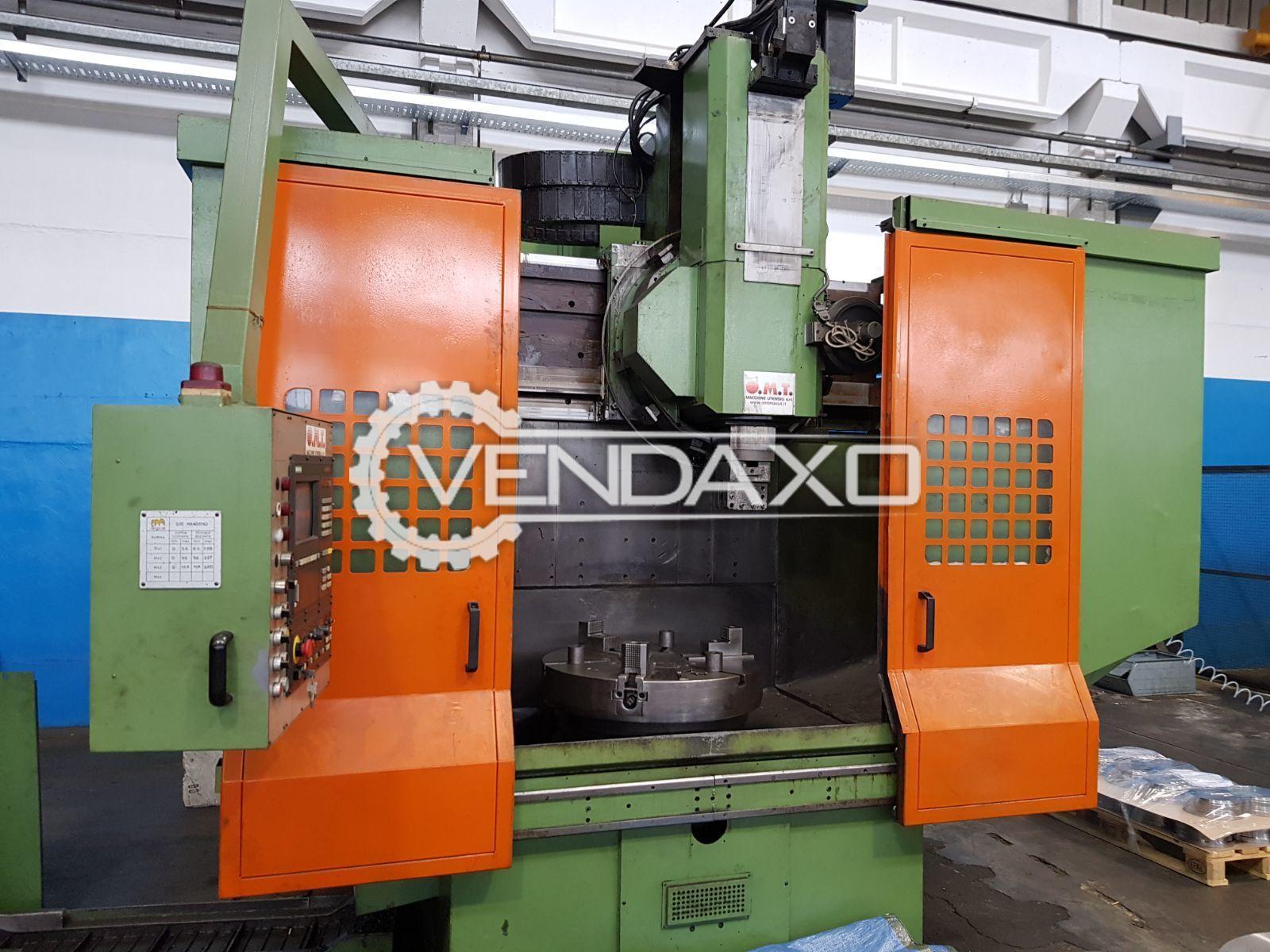 OMT CNC Vertical Machining Center