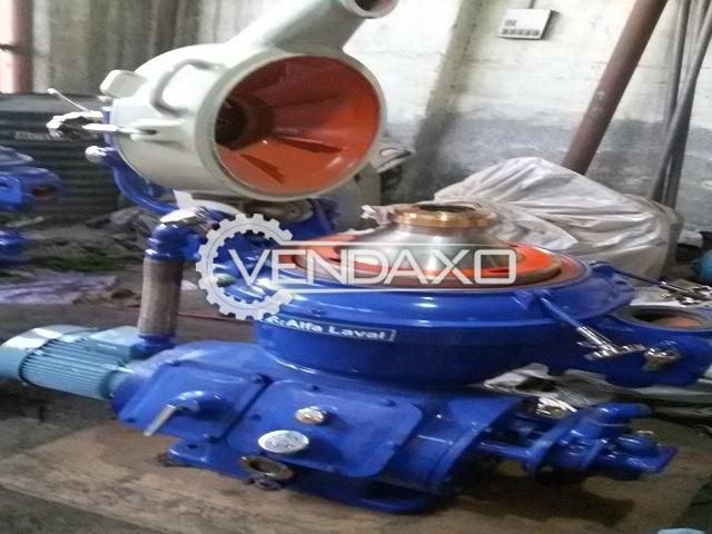Alfa laval mapx 207 sgt 24 oil separator   5000 liter per hour 2