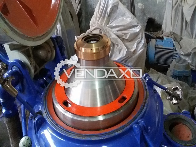 Alfa laval mapx 207 sgt 24 oil separator   5000 liter per hour 3
