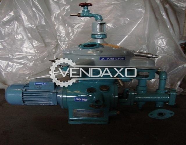 ALFA LAVAL MAAB-103-B-24 Oil Separator - 1000 Liter Per Hour