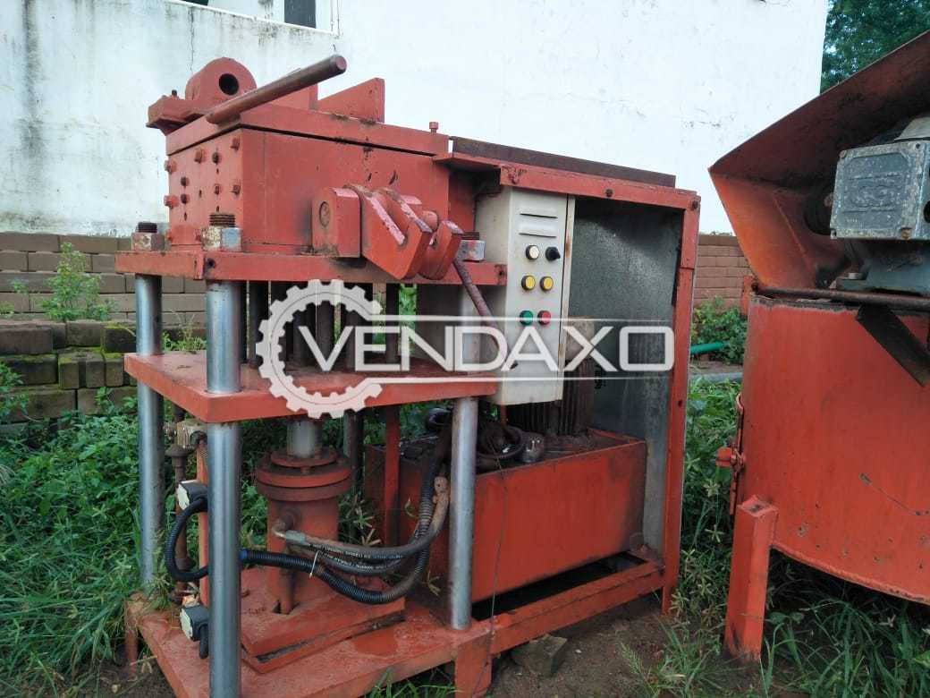 Semi Automatic Interlocking Bricks Manufacturing Unit - Production Capacity - 2000 Per Shift