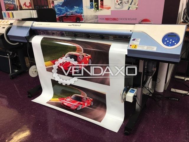 Roland VSI-540 Inkjet Printing Machine - 8 Color