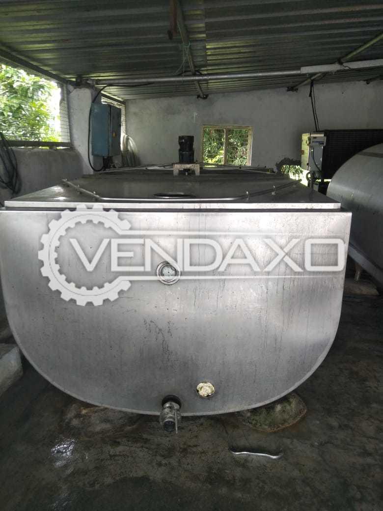 Available For Sale Bulk Milk Chiller (BMC) - 3000 Liter
