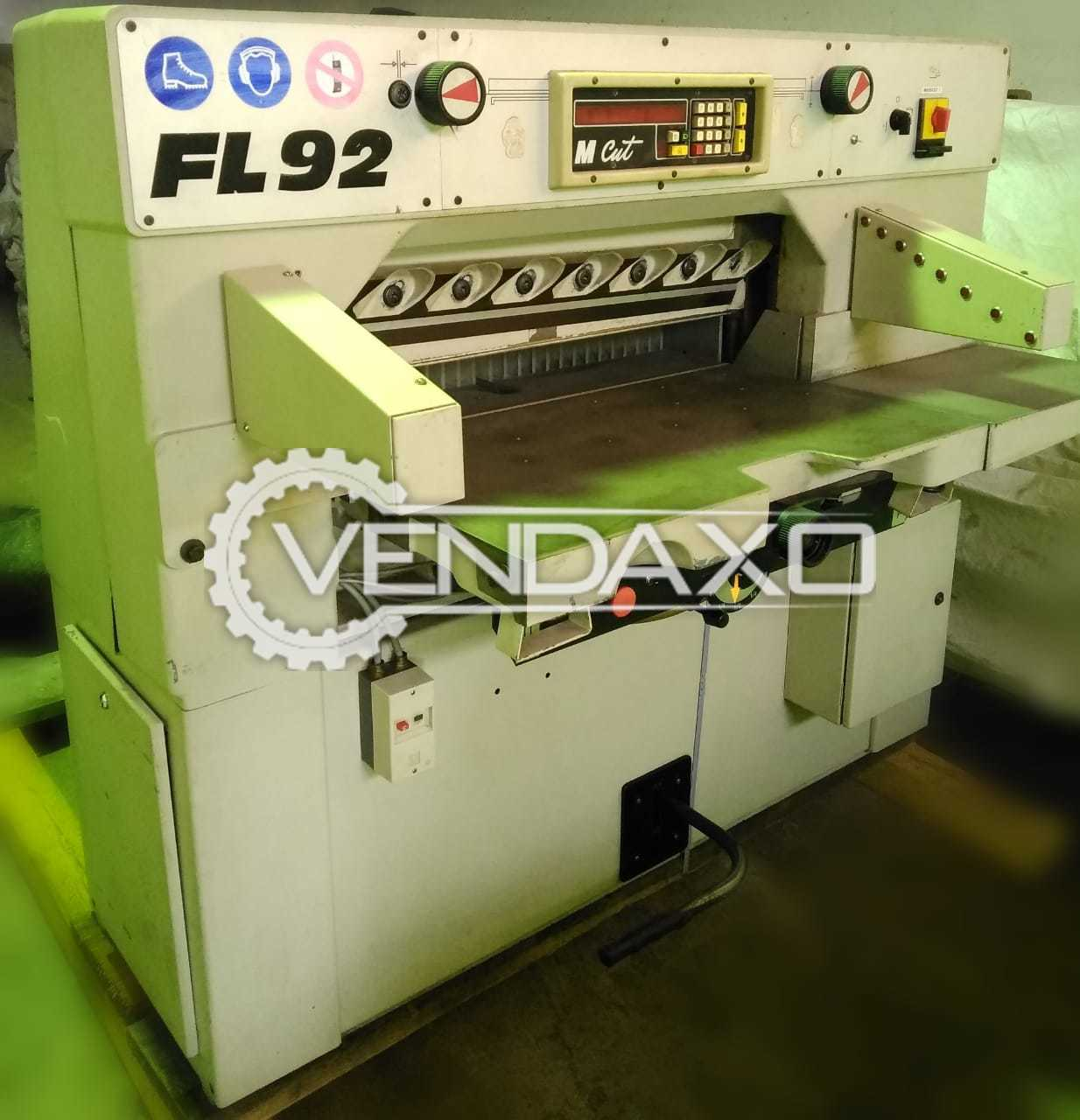 FL 92 Paper Cutting Machine - 36 Inch