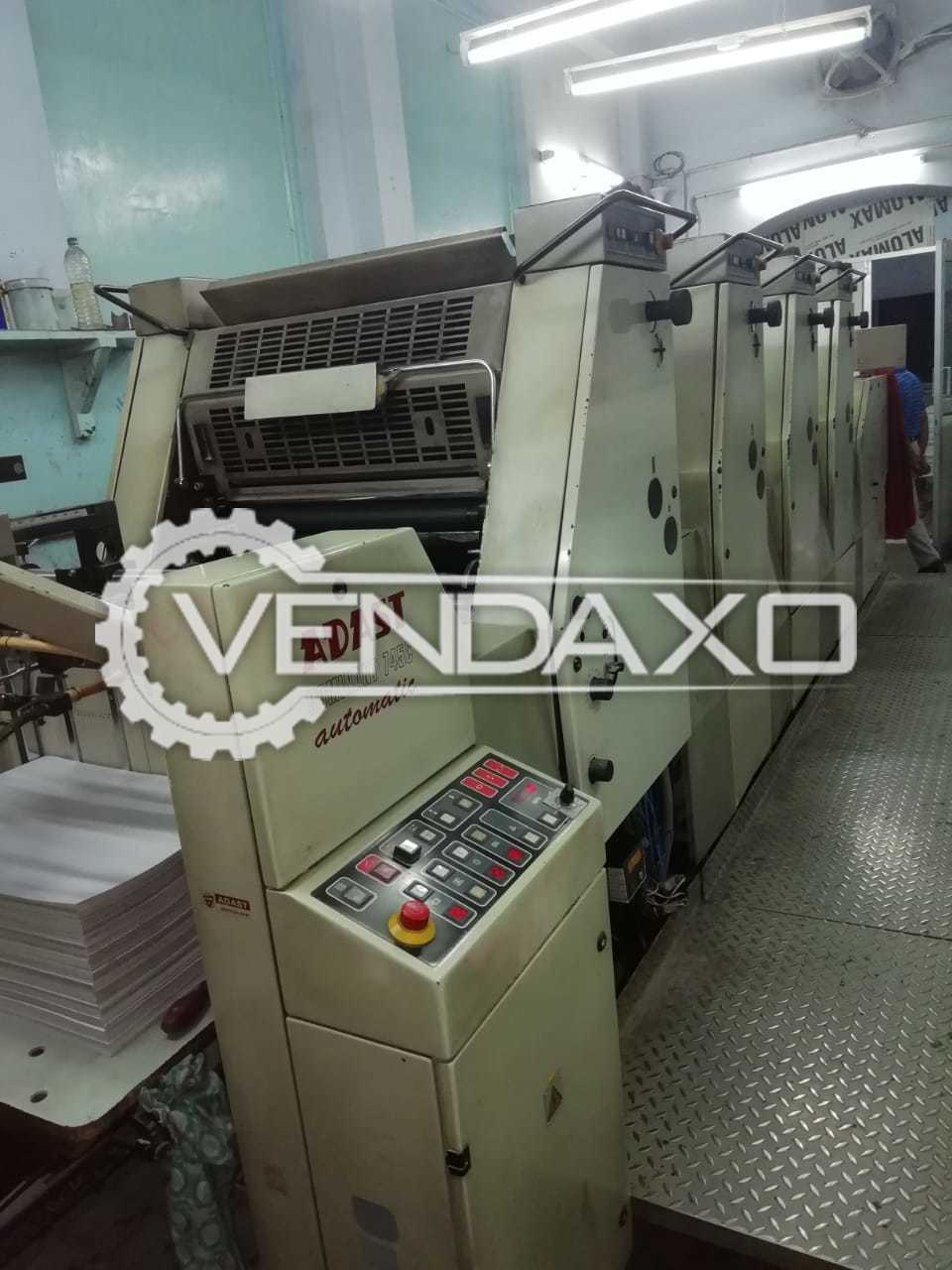 ADAST DOMINANT 745 Offset Printing Machine - 19 x 26 Inch , 4 Color , 2000 Model