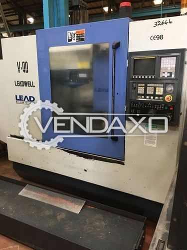 LEADWELL V40 Vertical Machining Centre VMC 1200 by 500 mm