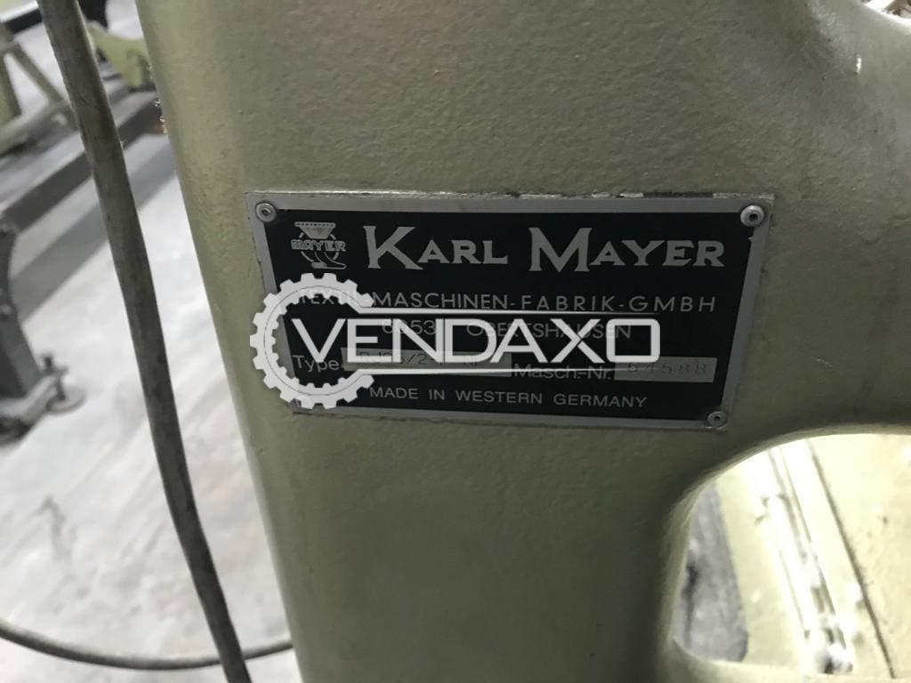 Available For Sale 4 Set of Karl Mayer RJG 5 F/NE Raschel Jacquard Machines