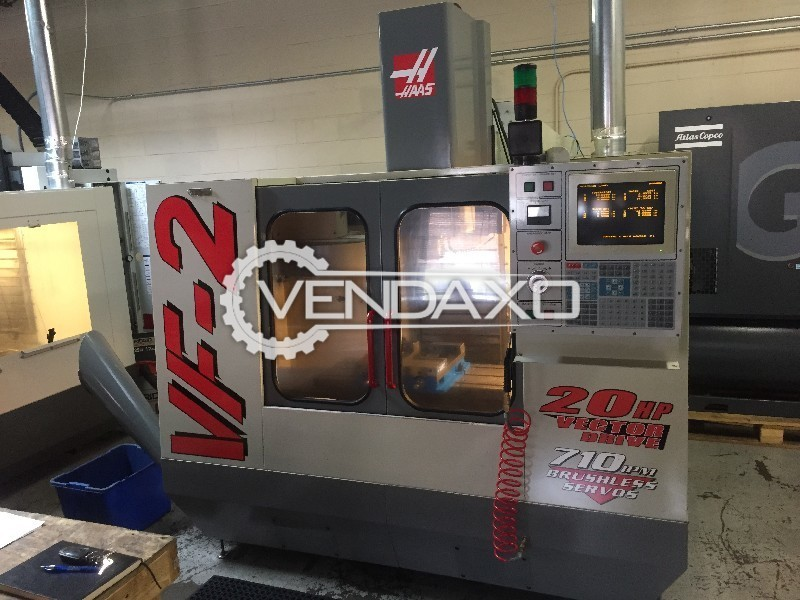 HAAS VF2 Vertical Machining Centre 36 by 14 inch