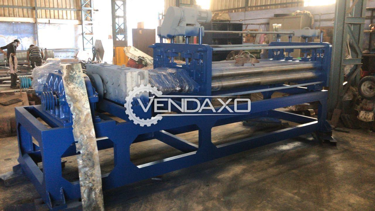 Yash DECOILER Mechanical Straightening Machine - Width - 2000 mm