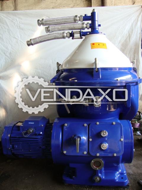 Alfa laval mopx 309 tgt 24 60 oil separator    capacity   9000 lph 2