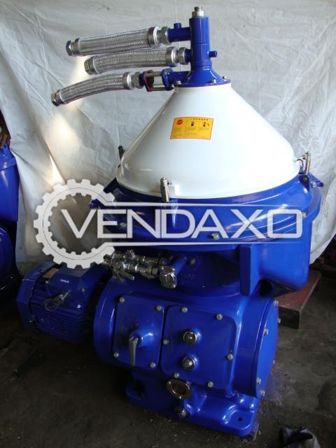 Alfa laval mopx 309 tgt 24 60 oil separator    capacity   9000 lph 3