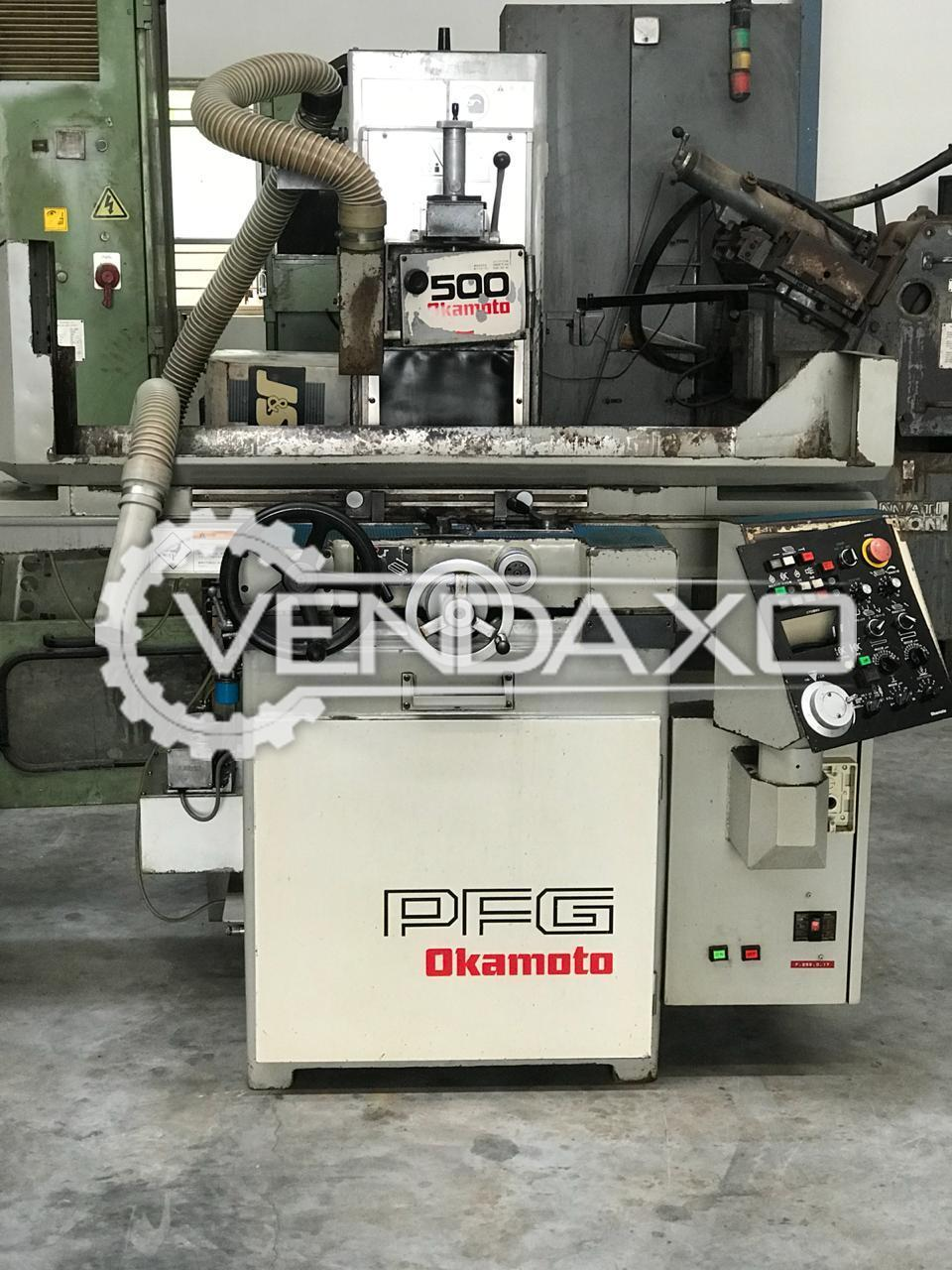 Okamoto PFG-500 Surface Grinding Machine - Length - 600 mm , Width - 140 mm