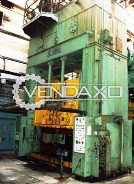 ERFURT PKZZ I 800 Straight Side Double Crank (SSDC) Press - 800 Ton