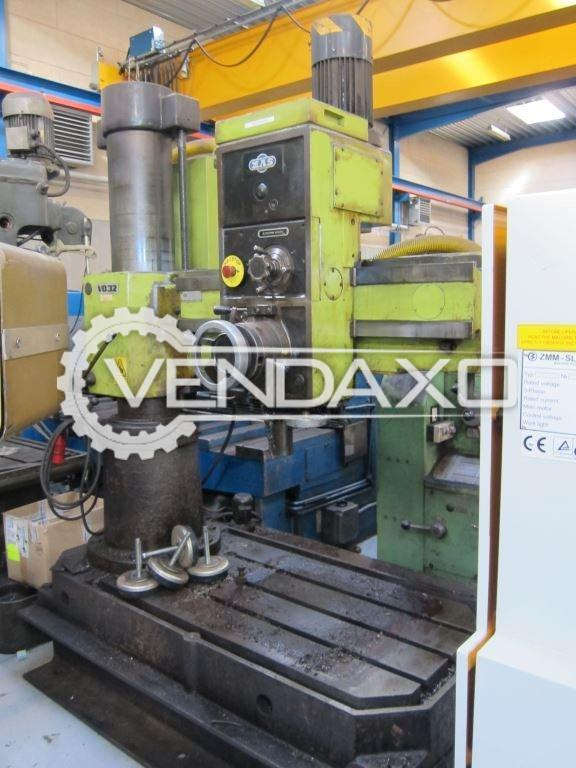 TOS VR-2 Radial Drill Machine - Capacity - 35 mm , Arm Length - 1030 mm
