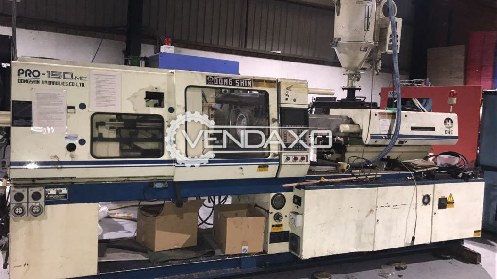 DONGSHIN PRO-150 Injection Moulding Machine - 150 Ton