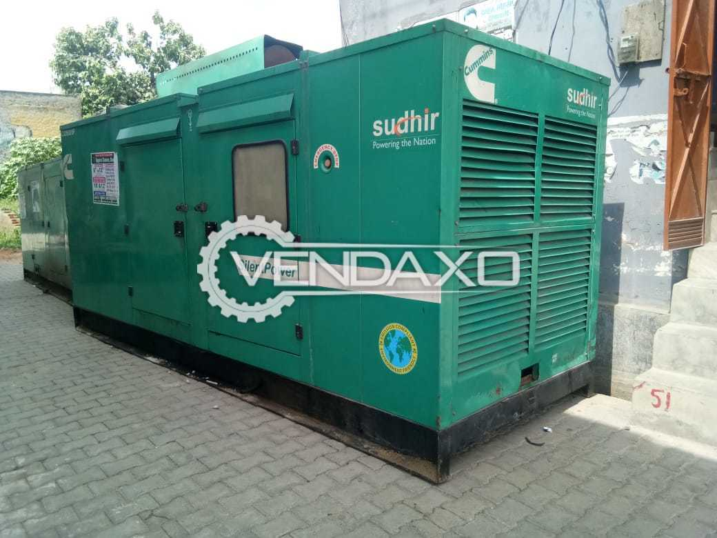 Cummins - Sudhir Diesel Generator - 250 Kva , 2011 Model