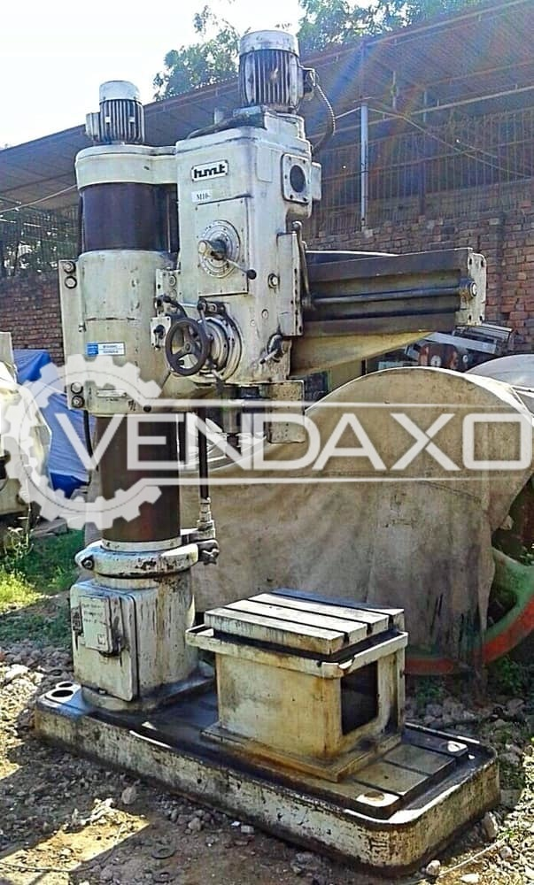 HMT RM-61 Radial Drill Machine -  Drilling Capacity - 50 mm , Drilling Depth - 325 mm