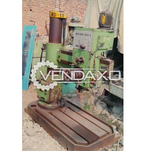 Batliboi BVR 3 Radial Drill Machine - Capacity - 32 to 35 mm