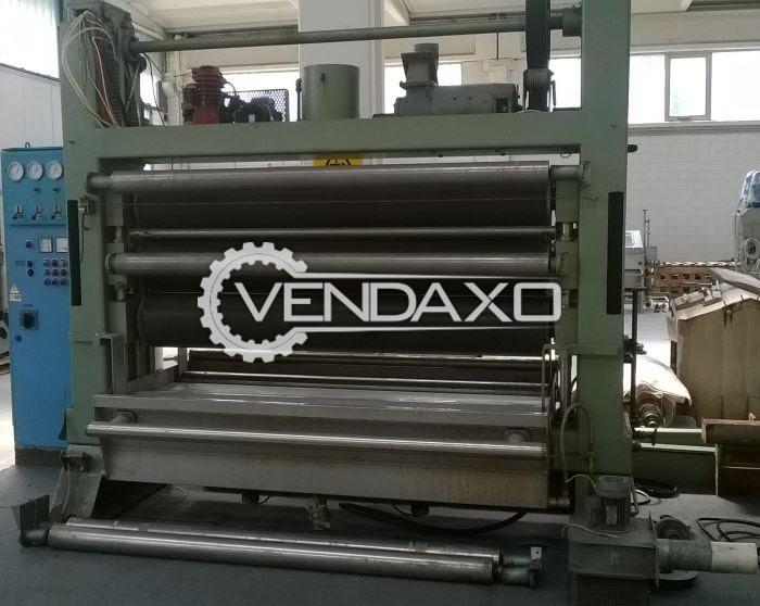 Beta Padding mangles (DYEING) Machine - Width - 2000 mm