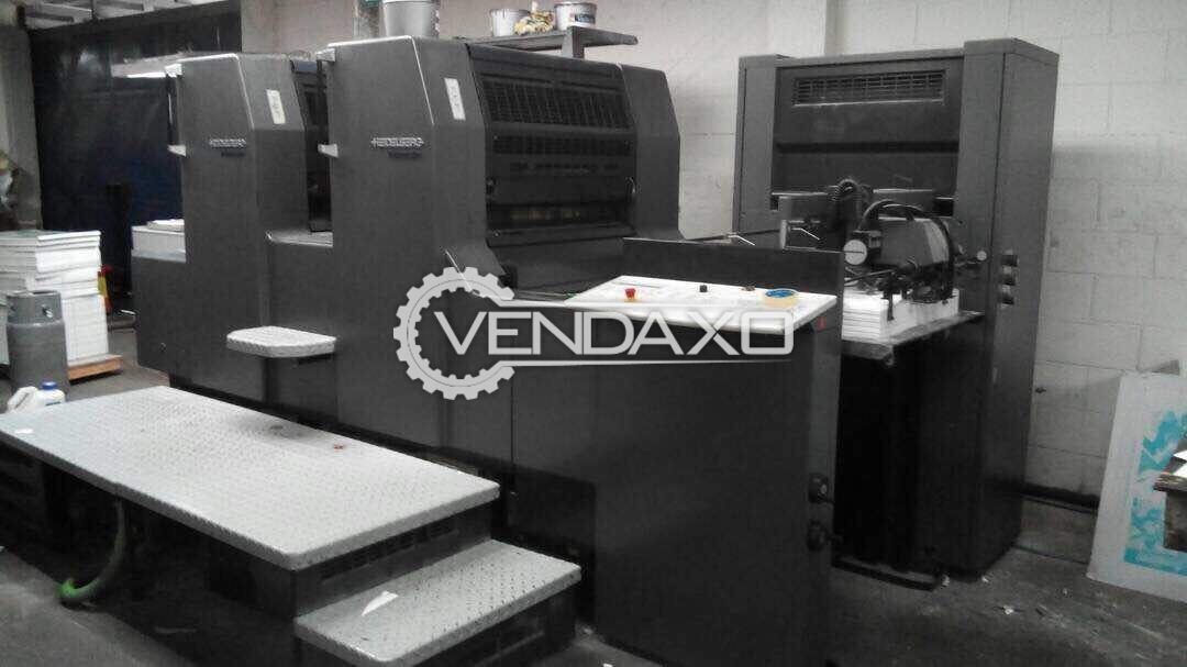 Heidelberg PM74-2 Offset Printing Machine - 2 Color