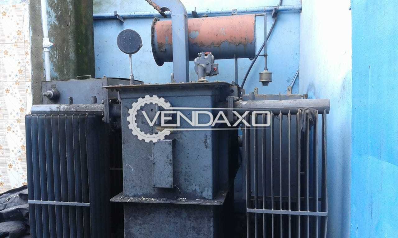 Used Voltamp Oil Filled Power Transformers - 1250 Kva