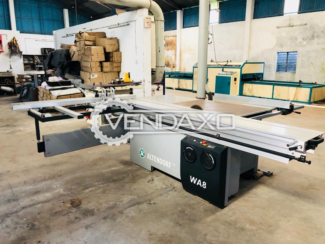 Available For Sale Altendorf Panel WA8T NCE Saw Wood Machine - Cutting Width - 1300 mm