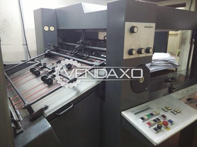 Heidelberg SM 102-4-P Offset Printing Machine - 72 x 102 Cm , 4 Color