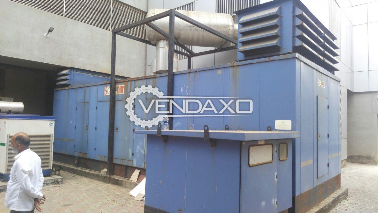 MTU Diesel Generator - 2500 Kva , 2008 Model