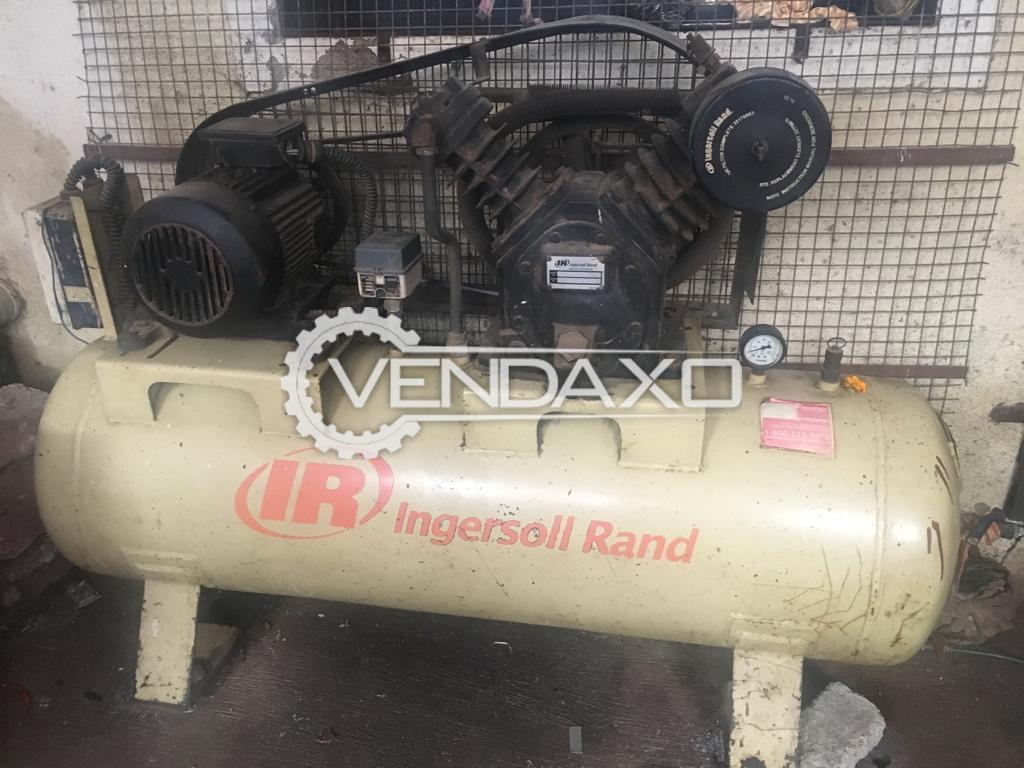 Ingersoll Rand Air Compressor - Capacity - 225 Liter , 5 Hp