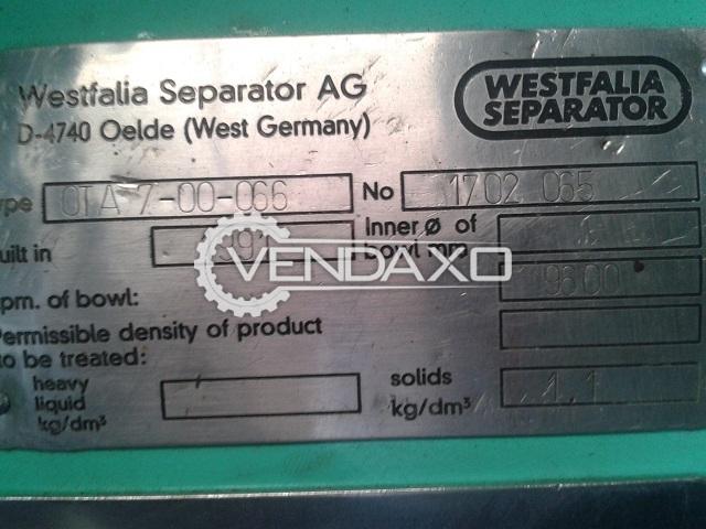 WESTFALIA OTA-7-00-066 Oil Separator