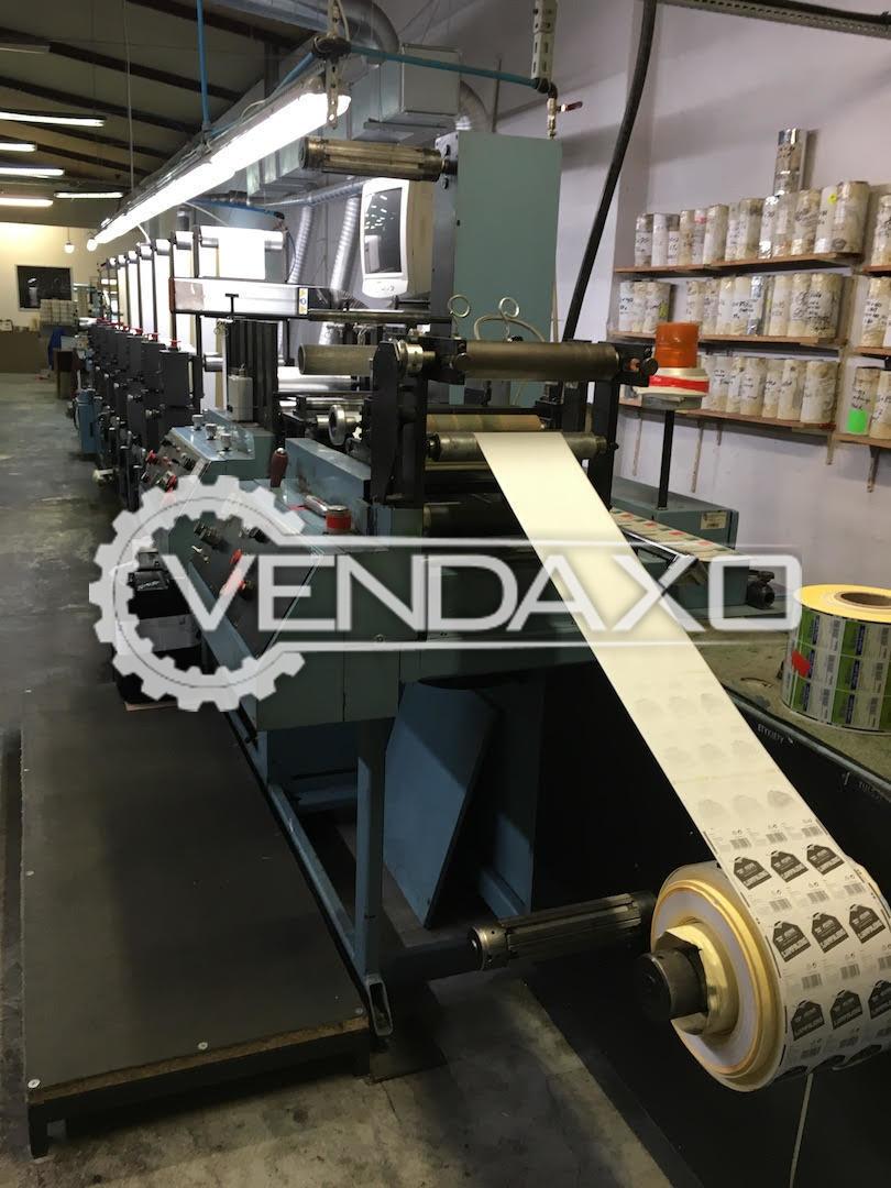 Propheteer  P7: 3 x 400V + PE+N, 120 A Printing Machine - 7 Color
