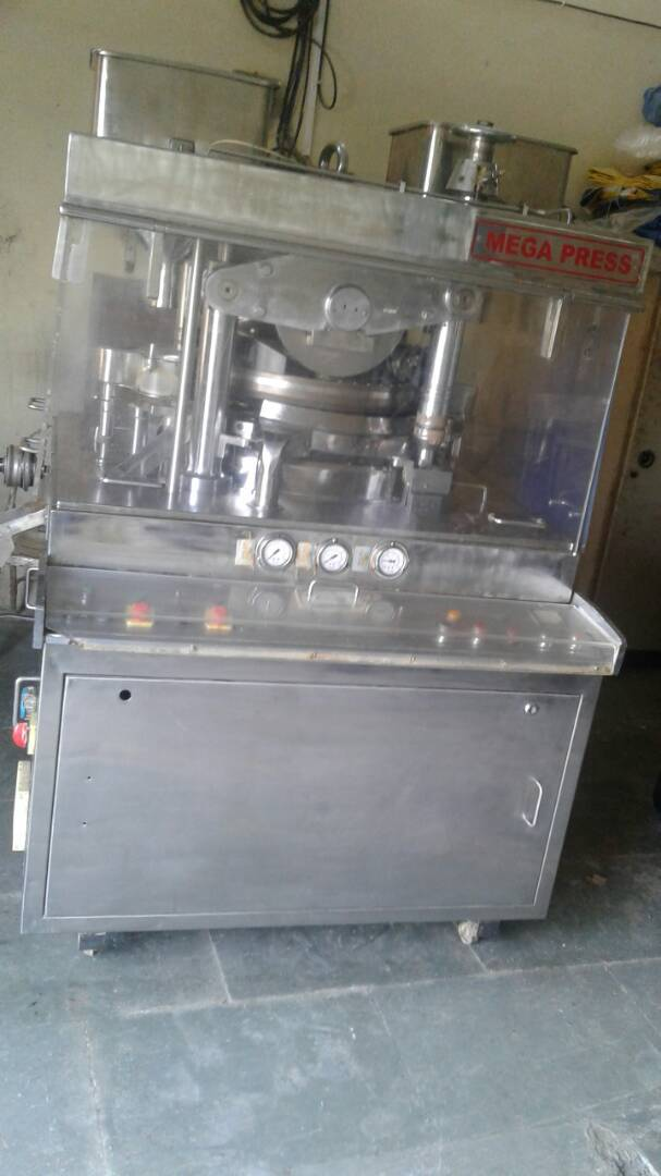 45 Station B Tooling Rotary Tablet Press Machine - GMP Model