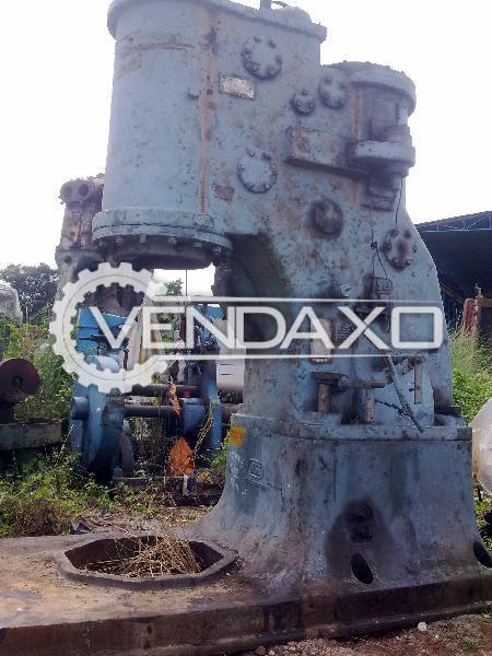 Massey Pneumatic Open Type Forging Hammer - 1000 KG