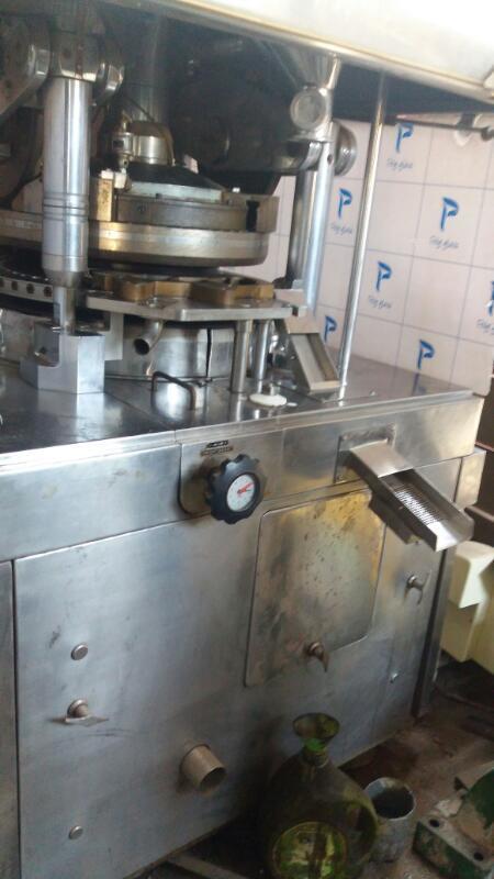 55 Station B B Tooling Rotary Tablet Press Machine- GMP Model