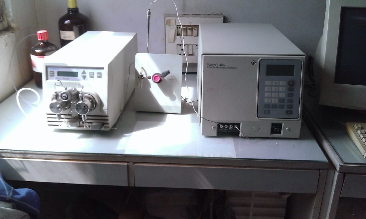 Waters HPLC with absorbance detector