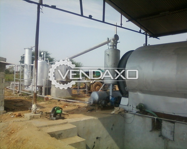 Tyre Pyrolysis Oil Plant - 5 Tons Per Day